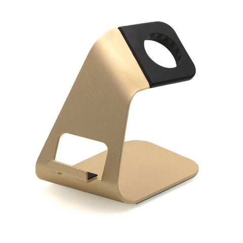 Third-party 2 in 1 Apple Watch Stand Aluminium
