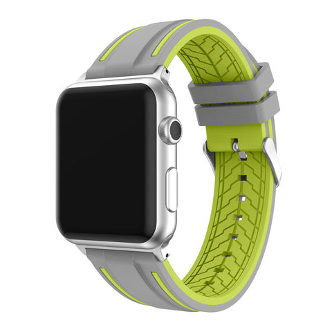 Third-Party Apple Watch Double Color Sport Band