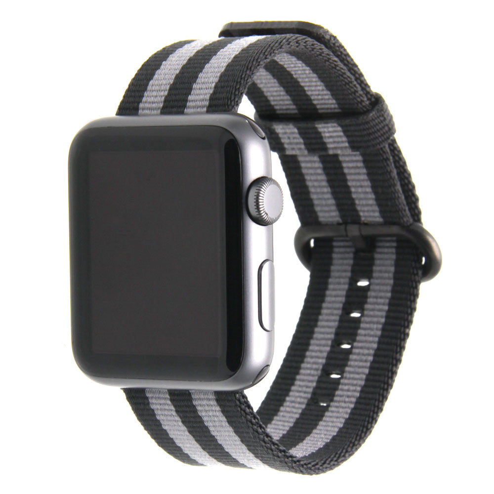 5ecceb389c39c3 Third-Party Apple Watch Nylon NATO Strap in Singapore | Apple Watch ...
