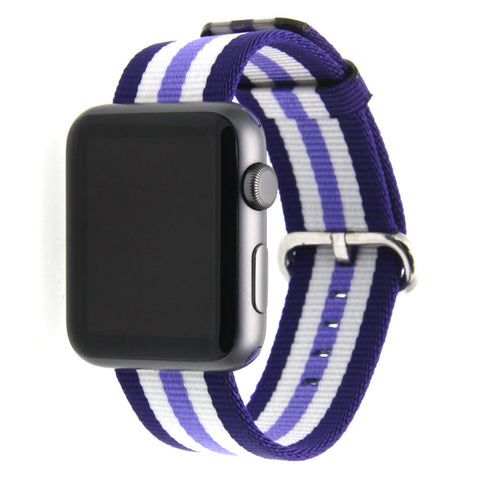 Third-Party Apple Watch Nylon NATO Strap