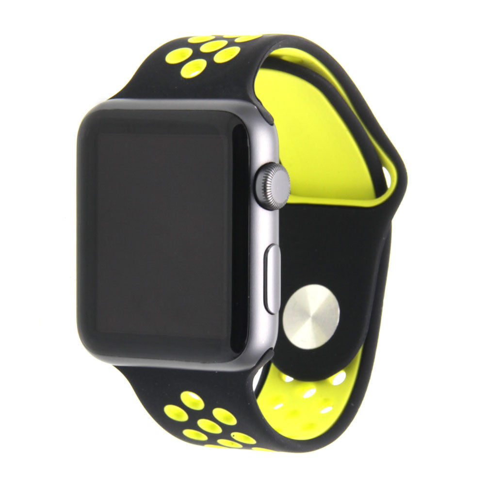 8002f85951e745 Third-Party Apple Watch Perforated Sport Band in Singapore | Apple ...