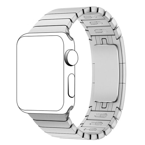 Third-Party Apple Watch Stainless Steel Link Bracelet