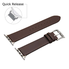 Third-Party Apple Watch Vintage Calf Leather Watch Strap