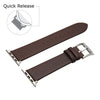 Image of Third-Party Apple Watch Vintage Calf Leather Watch Strap