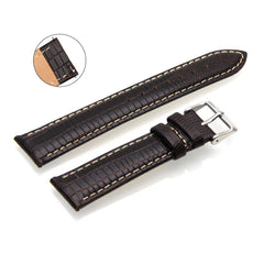 Third-Party Samsung Gear S2 Classic Lizard Grain Calf Leather Watch Strap