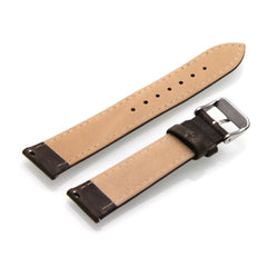 Third-Party Samsung Gear S2 Classic Vintage Calf Leather Watch Strap (White Stitching)