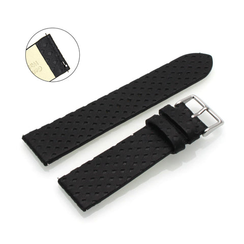 Third-Party Samsung Gear S3 Calf Leather Decorative Embossing Watch Strap