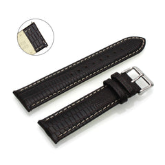 Third-Party Samsung Gear S3 Lizard Grain Calf Leather Watch Strap