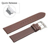 Image of Third-Party Samsung Gear S3 Vintage Calf Leather Watch Strap