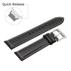 Image of Third-Party Samsung Gear S3 Vintage Calf Leather Watch Strap (White Stitching)