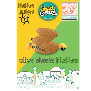 Olive cheese Khakhra Juniors