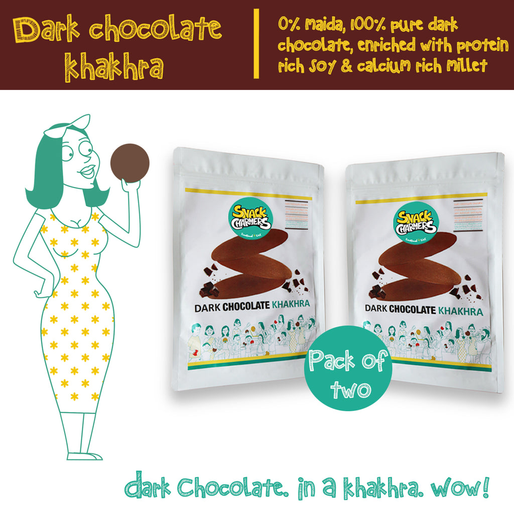 Dark Chocolate Khakhra