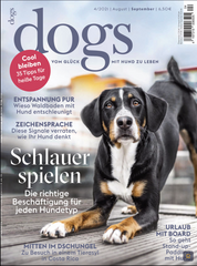 Dogs magazine - KONA CAVE® Travel Dog Bed highlighted as best travel dog bed