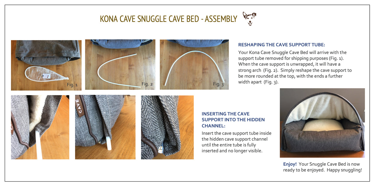 Snuggle Cave Bed Assembly