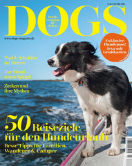Kona Cave Designer Dog Beds featured in DOGS Magazine