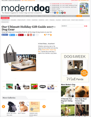 Holiday Gift Guide for Dog Gear and Dog Beds - Kona Cave Travel Dog Bed