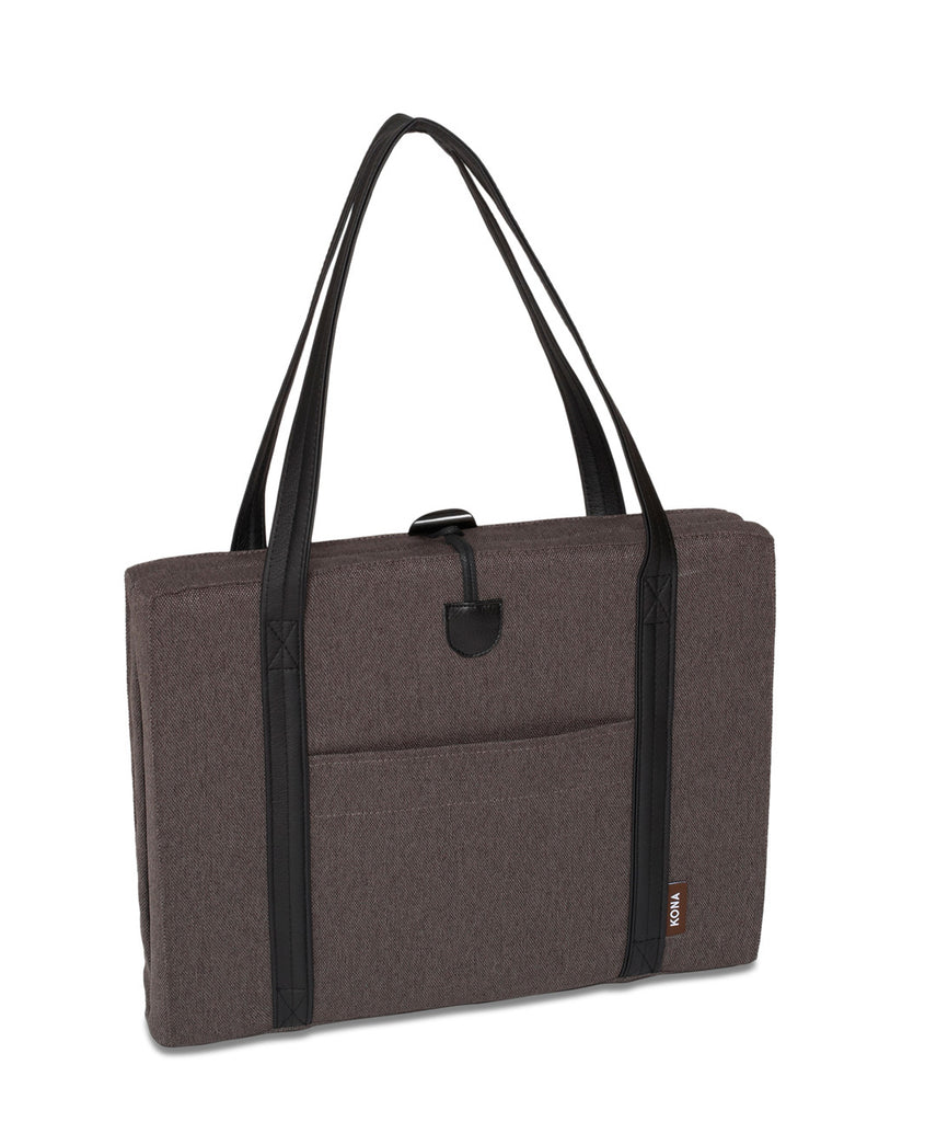 Zipper Bag - Match to Grey Travel Dog Bed with Black Ultra Suede Lining
