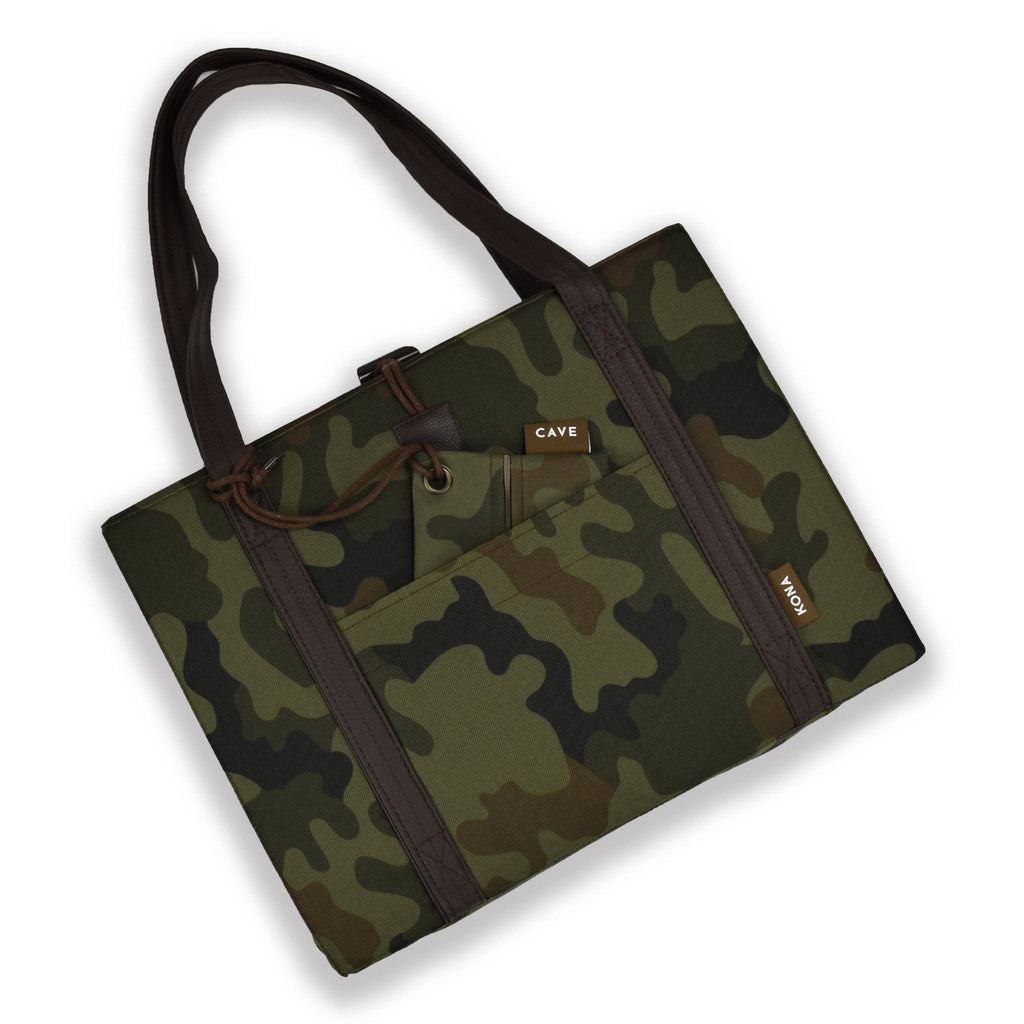 Essential Zipper Bag  -  Camouflage Nylon