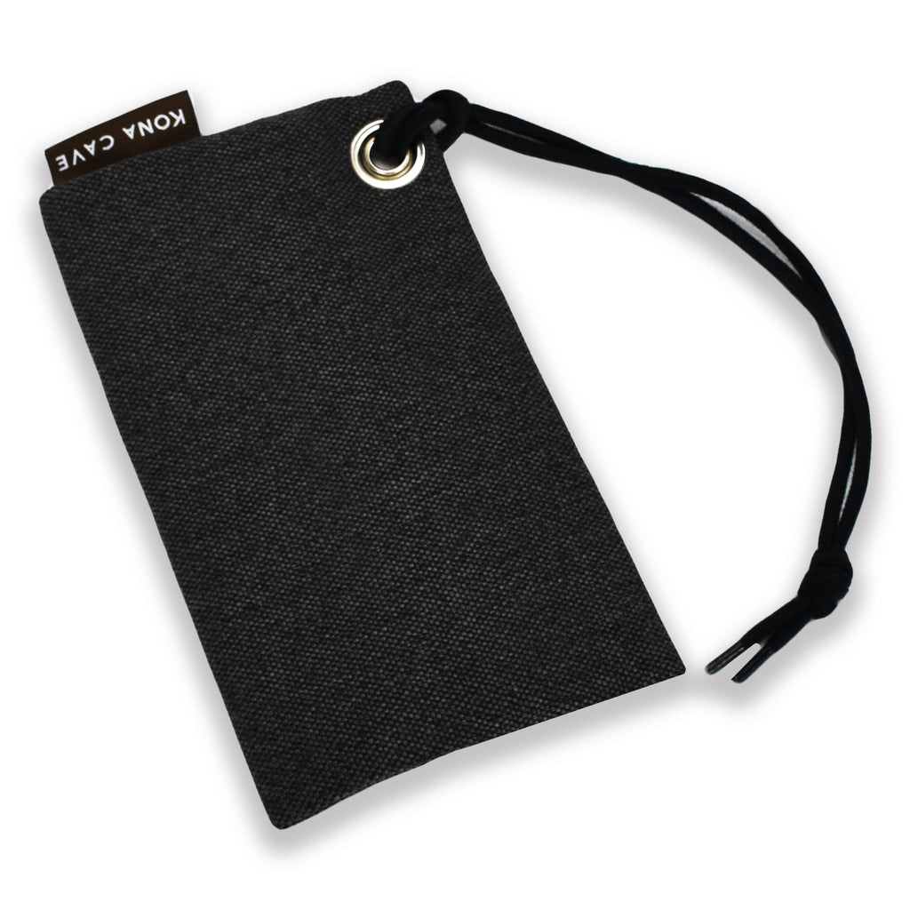 KONA CAVE® Essential Zipper Bag in Grey Dot Matrix