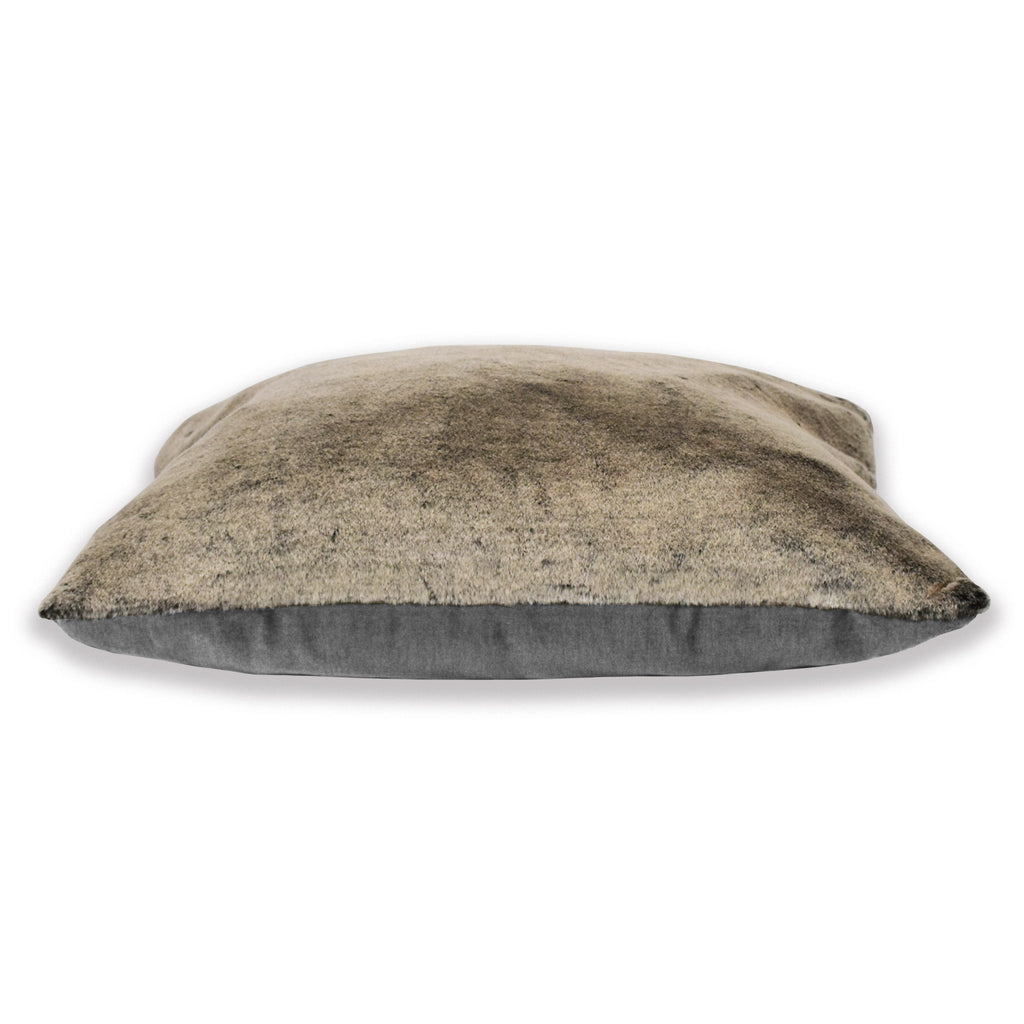 The Dream Cushion - Luxurious Faux Fur & Sumptuous Velvet with a supportive Orthopedic Mattress