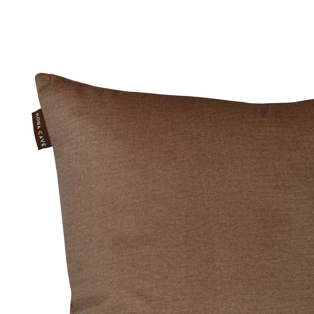 Pillow Cover - Beige Velvet