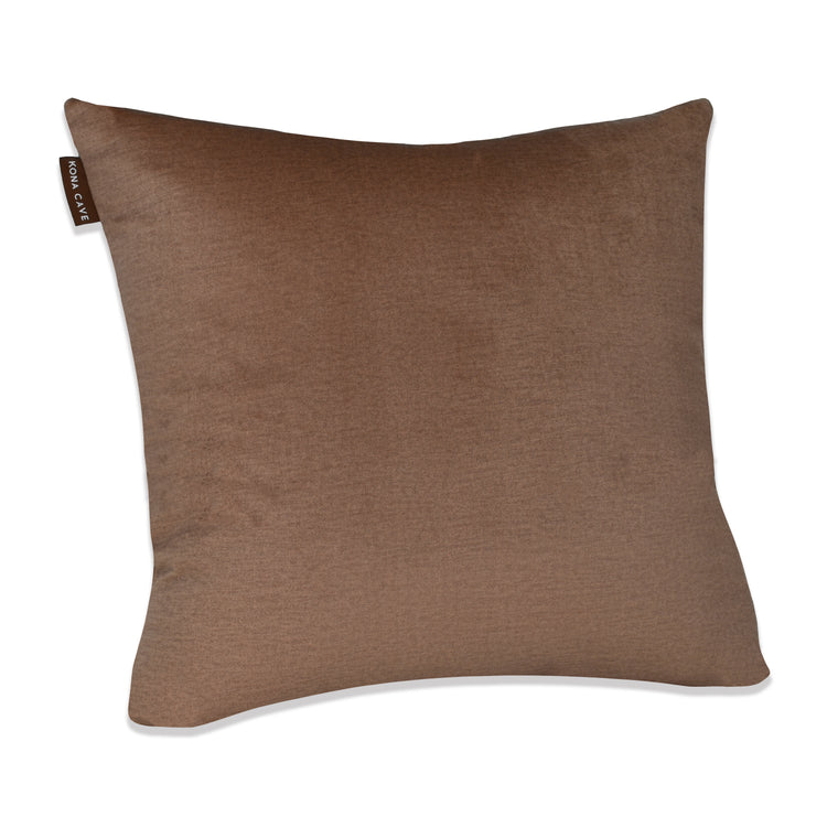 Decorative Pillow Cover - Beige Velvet