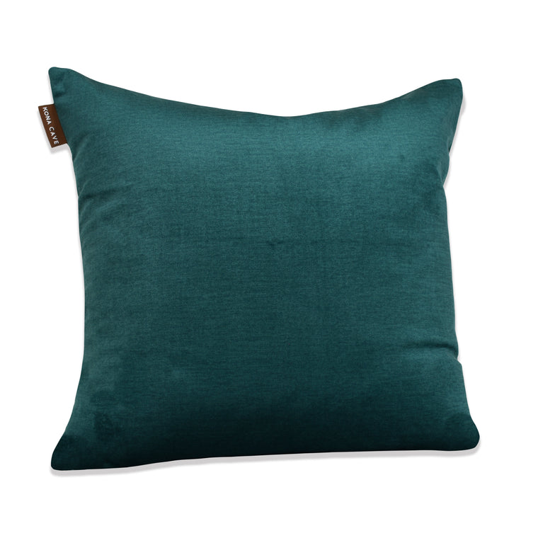 Decorative Pillow Cover - Emerald Green Velvet