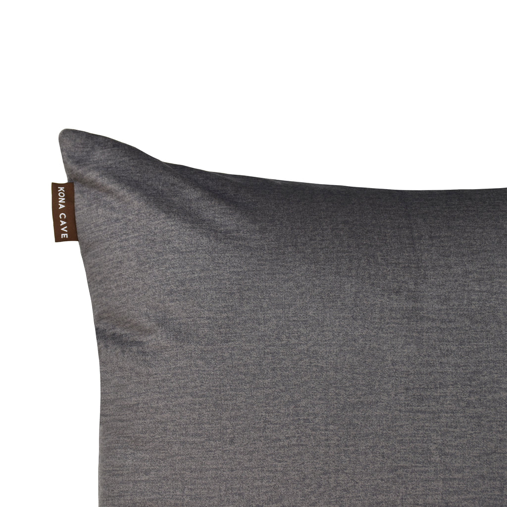 Pillow Cover - Graphite Grey Velvet