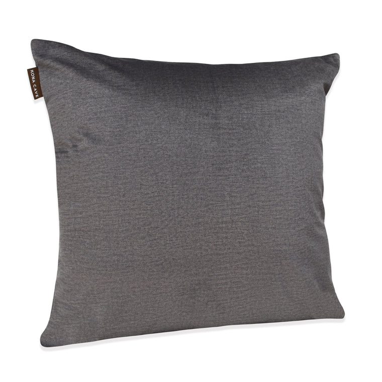 Decorative Pillow Cover - Graphite Grey Velvet
