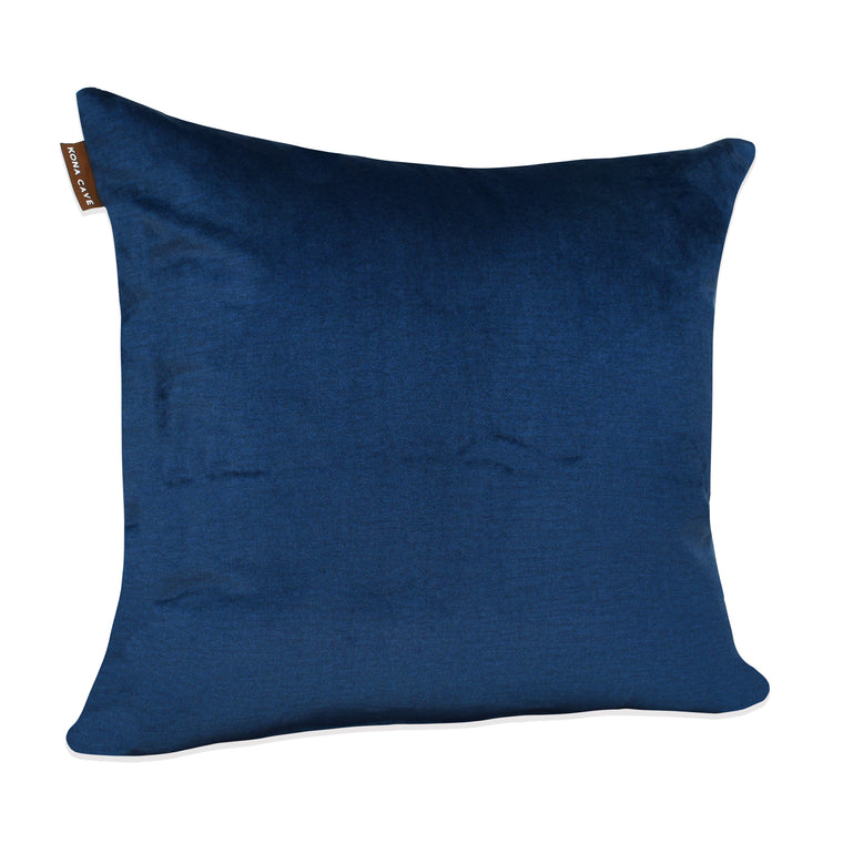Decorative Pillow Cover - Midnight Blue Velvet