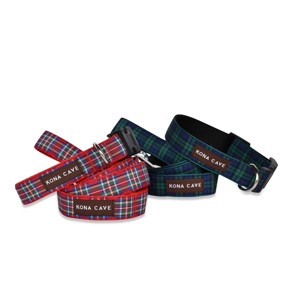 Blackwatch Tartan - Dog Walk Set