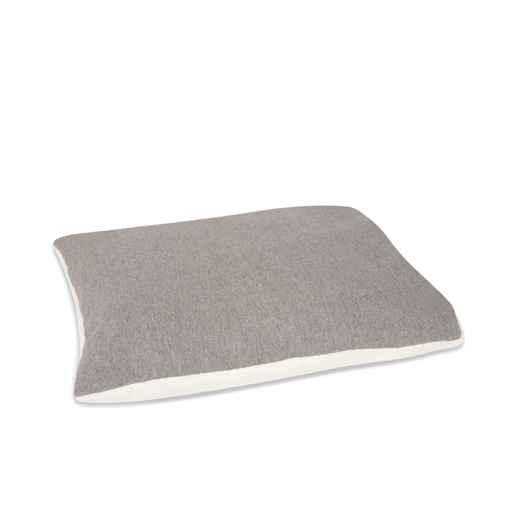 KONA CAVE® designer snuggle cave dog bed in luxury fabric. Bed Pillow.