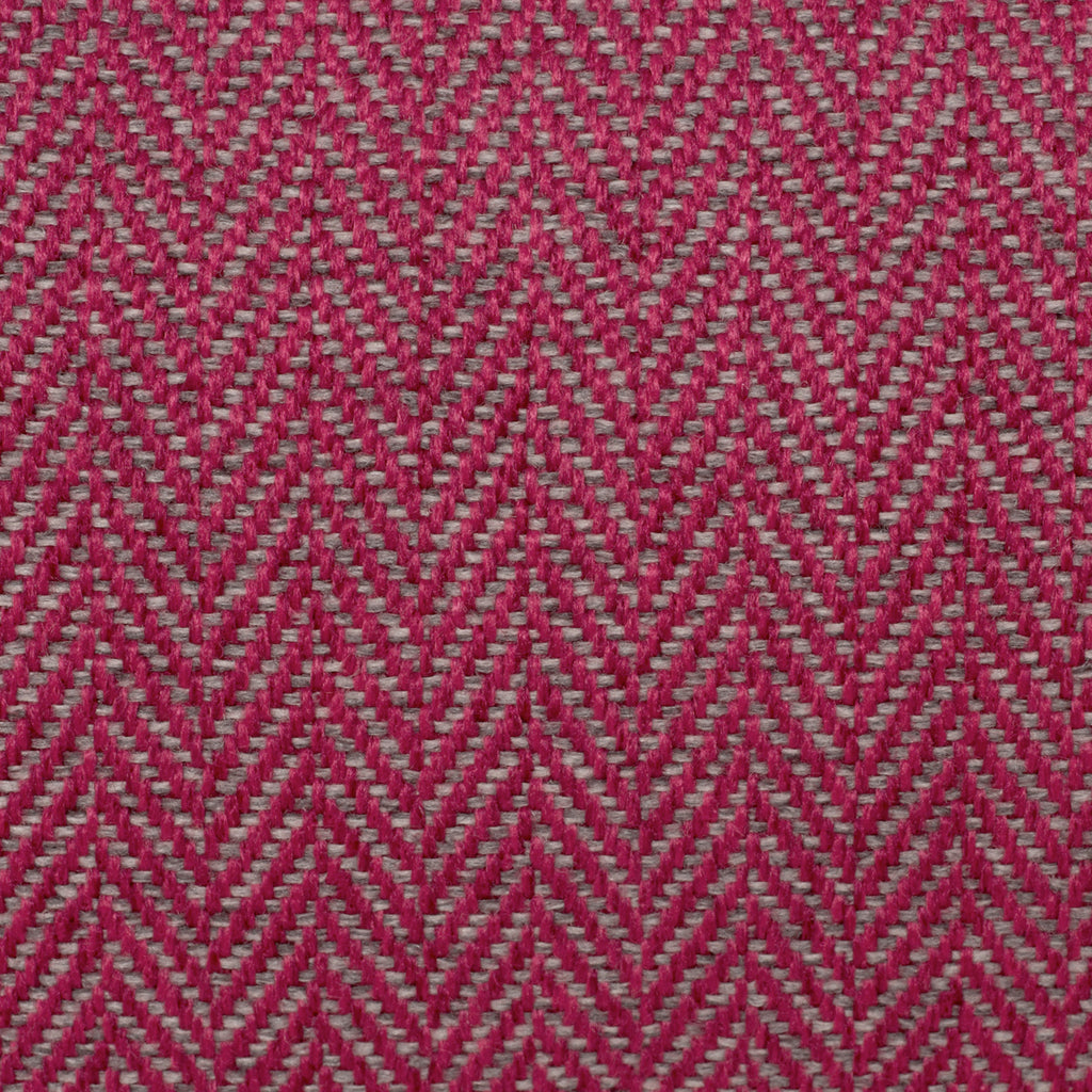 KONA CAVE® designer bolster dog bed in elegant pink herringbone fabric - detail.