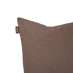 Kona Cave Cosy Snuggle Cave Dog bed in Elegant Brown Herringbone