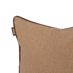 Kona Cave Cosy Snuggle Cave Dog bed in Elegant Light Brown Flannel