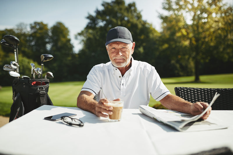 CBD Coffee Golfer