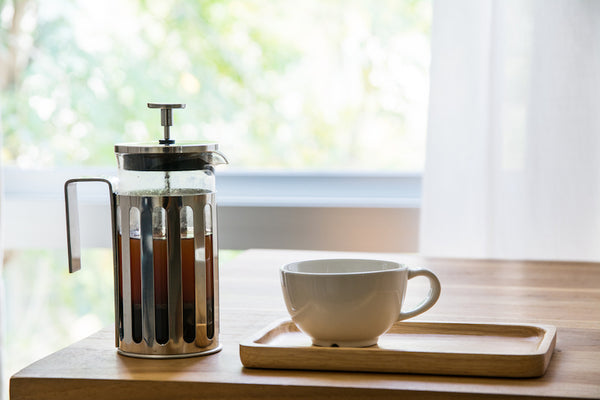 BE OUR OWN BARISTA:  FINE FRENCH PRESS