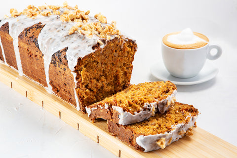 Carrot Cake & CBD Coffee