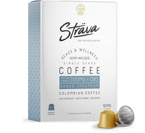 CBD Coffee (Nespresso* Pods) - 10mg CBD/Serving - Medium Roast