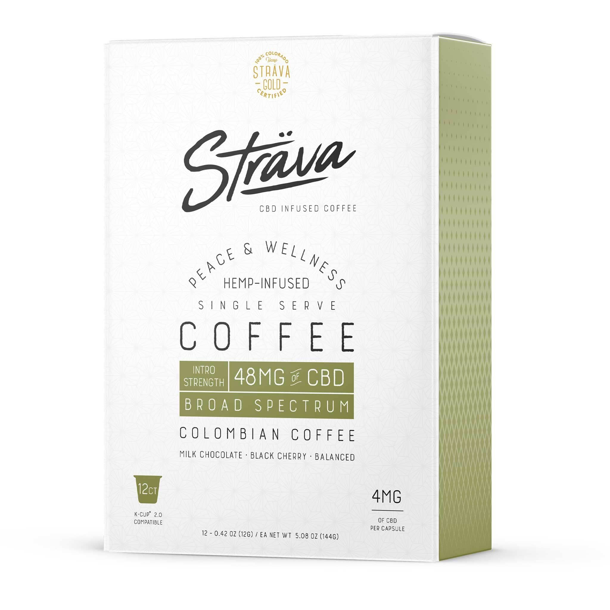 K-Cup 2.0 Compatible - Intro Strength - 4mg CBD/Serving (Medium Roast Coffee)