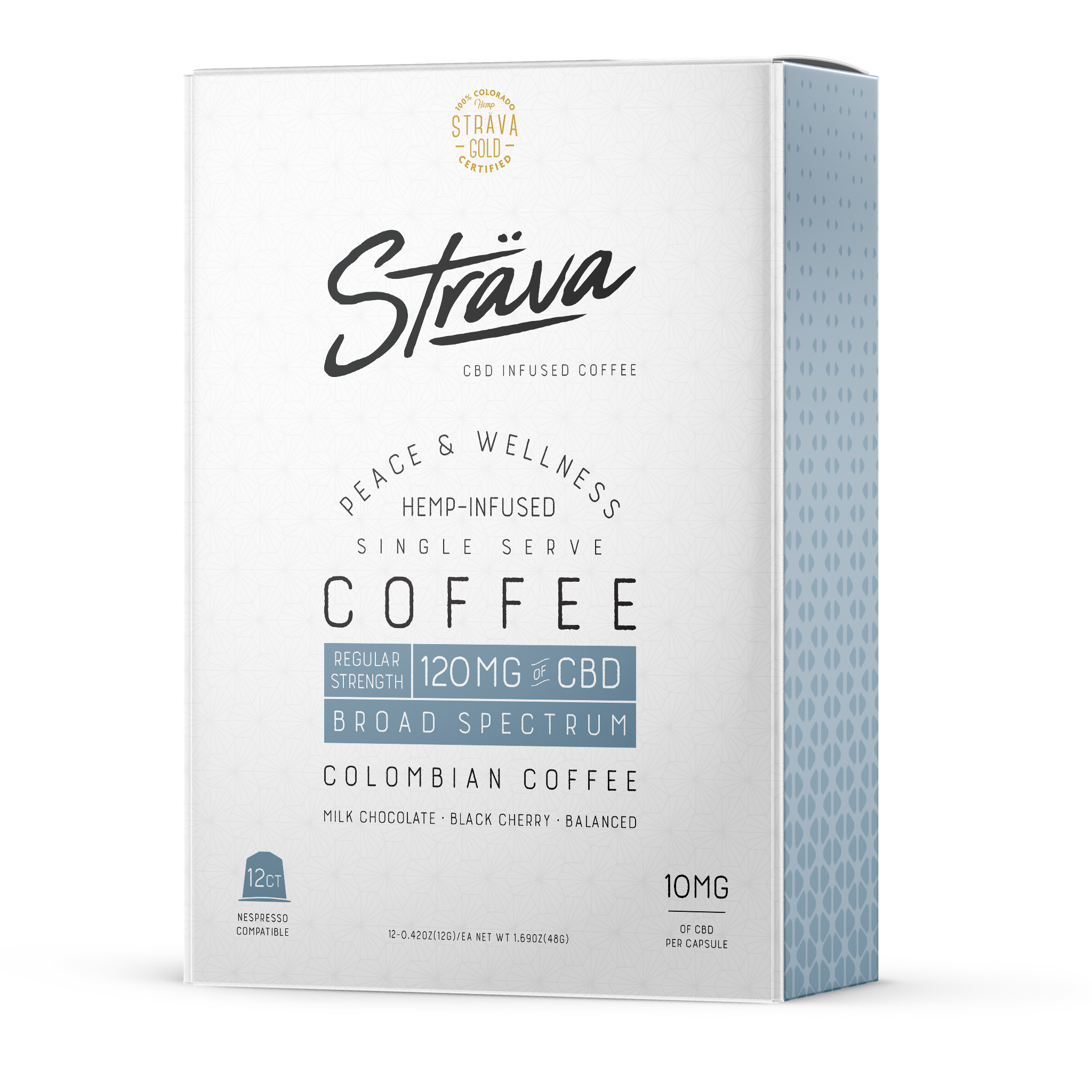 CBD Infused Coffee Nespresso Compatible (12 pack)