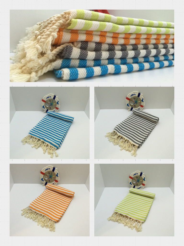 Peshtemal, Turkish Towels, are Great for any Place Where Towels are Needed