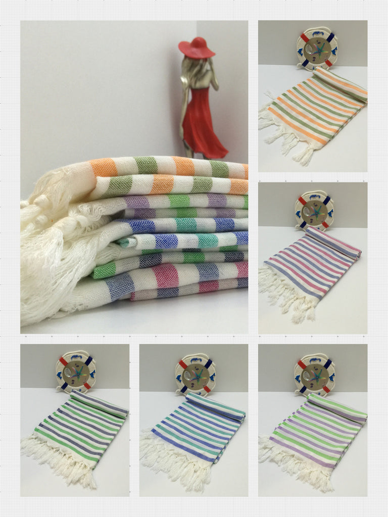 Bamboo, Peshtemal, Turkish Towels Very Soft and Absorbent