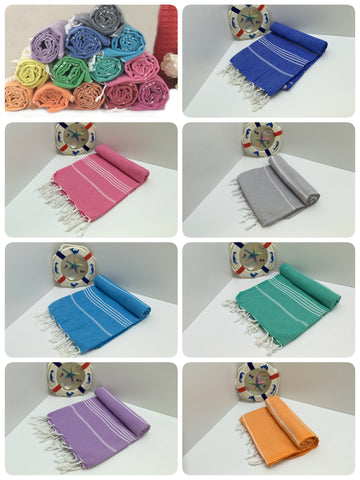 Turkish pestemal towel