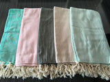 Turkish Peshtemal Towels Wholesale pestemals 40 pcs - 4