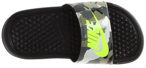 Nike Benassi Camouflage Slide Sandals (Youth)