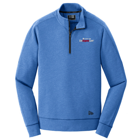Albany Med EmUrgentCare Tri-Blend 1/4 Zip- 4 Colors