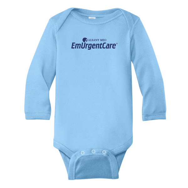 Albany Med EmUrgentCare Infant Onesie- 4 Colors