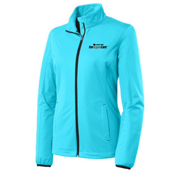 Albany Med EmUrgentCare Active Soft Shell Jacket- Ladies & Men's, 3 Colors