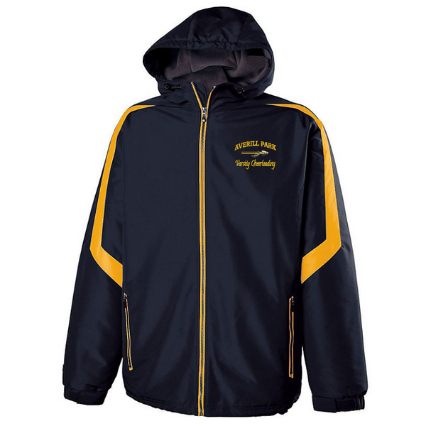 AP Cheer Hooded Full Zip Jacket- Youth & Adult, 2 Colors